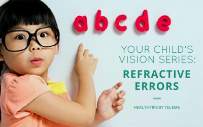Your Child's Vision: Refractive Errors (The Need To Wear Glasses)
