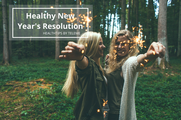 Our Pick on Top 5 Healthiest New Year's Resolutions