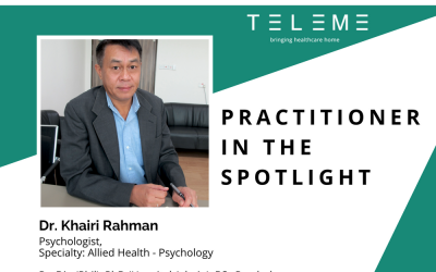 Practitioner in the Spotlight: Dr Khairi Rahman