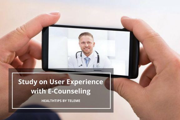 Study on User Experience with E-Counseling