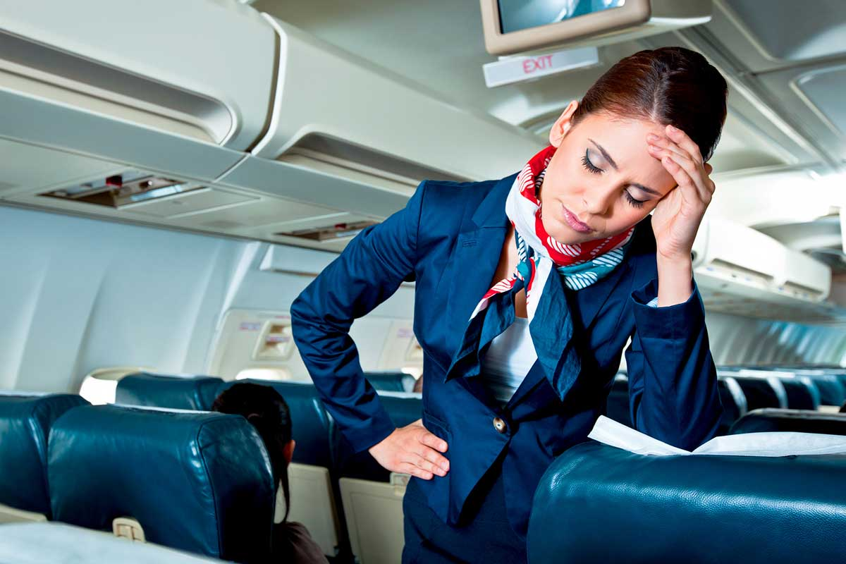 Tips to Relieve Stress among Cabin Crew